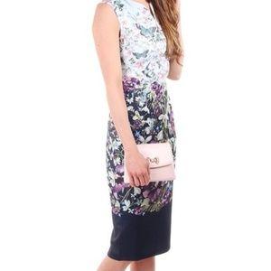 Ted Baker Midi Bodycon Sleeveless dress